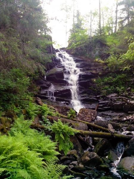 Водопад Юканкоски №1