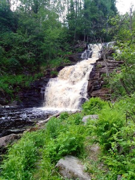 Водопад Юканкоски №2